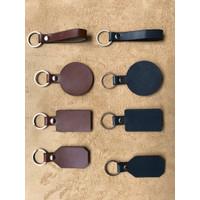 Gantungan kunci - key chain kulit sintentis costum