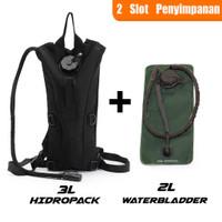 Tas Kantung Air Minum 3 Liter dengan waterbladder motor trail sepeda