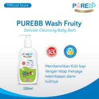 Pure Baby Wash Fruity Sabun Mandi anak 230ml