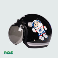 Nussa - X Marzano Arzo Helm Astro Junior (7Tahun Keatas) - Hitam