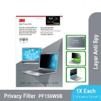 "3M Anti Spy Laptop Notebook Privacy Filter Screen 15.6"" - PF15.6W9B"