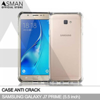 Softcase Anti crack Casing for Samsung Galaxy J7 Prime - Clear