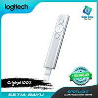 Wireless Presenter Logitech Spotlight Laser Pointer Wireless Silver