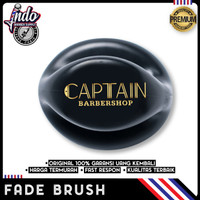 Sikat Halus / Kuas / Fade Brush Barbershop premium Dengan Logo