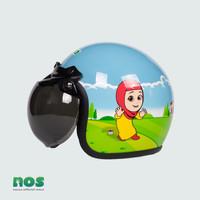 Nussa - X Marzano Arzo Helm Kids (Usia 1-7tahun) - Biru Muda