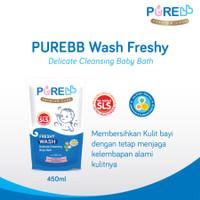 Pure Baby Wash Freshy Sabun Mandi Anak Refill 450 ml