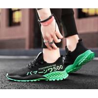 SEPADOO Sport Shoes Pria HACHI Sepatu Running Olahraga Hitam - 39, Hitam