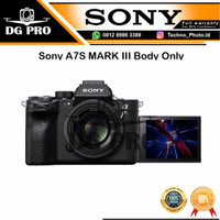 Camera Sony A7SIII A7 S MARK III BODY ONLY A7SM3 A7S III MIRRORLESS