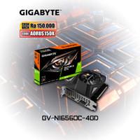 Gigabyte VGA GeForce® GTX 1650 D6 OC 4G (GV-N1656OC-4GD)