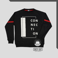 SWEATER PRIA SET UP CONNECTION 5638 - HITAM
