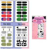 monochome nail stickers 3d sticker kuku monochrome glitters