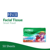 [GROSIR] TISSUE PASEO TRAVEL PACK 50 SHEETS / ISI 80 PCS