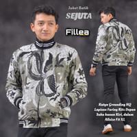 fillea jaket pria batik Sejuta allsize fit xl murah puring katun ero