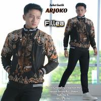 fillea jaket pria batik Arjoko allsize fit xl murah puring katun ero