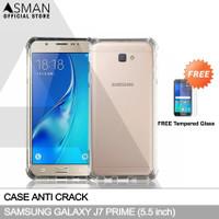 Anti Crack Samsung Galaxy J7 Prime | Softcase Anti Bentur - FREE TG