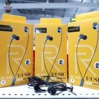 HEADSET HANDSFREE REALME AT-038 MAGNET STEREO EARPHONE AT038