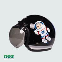 Nussa - X Marzano Arzo Helm Astro Kids (1-7tahun) - Hitam