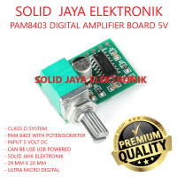KIT POWER MINI PAM8403 PLUS POTENSIO MODUL AMPLIFIER PAM 8403 5V DC