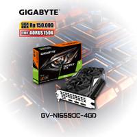 Gigabyte VGA GeForce® GTX 1650 OC 4G [GV-N1650OC-4GD]