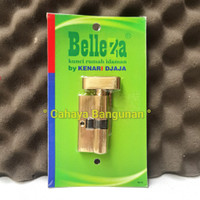 Cylinder Kunci KnoB Silinder Putar Toilet Wc Kend Belleza Solid Dekson