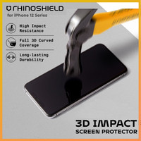 Rhinoshield Impact 3D Tempered Glass iPhone 12 Pro Max Mini Anti Gores - 12 Mini