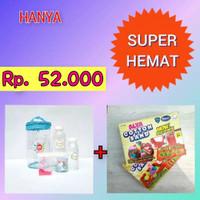 Paket Slime Kit + Cotton Sand/Slime Kit/Bahan Slime/Small BIRU