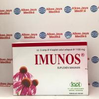 Imunos Tablet (1box @5strip) - Vitamin Daya Tahan Tubuh