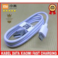 KABEL DATA CHARGER XIAOMI ORIGINAL PUTIH MICRO USB 2A FAST CHARGING