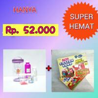Paket Slime Kit + Cotton Sand/Slime Kit/Bahan Slime/Small UNGU