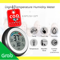 Digital Thermometer Hygrometer Min Max Value - CJ-3305F