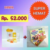 Paket Slime Kit + Cotton Sand/Slime Kit/Bahan Slime/Small KUNING