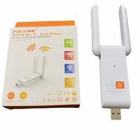 PIX-LINK UAC03D USB WiFi Wireless Adaptor Receiver 1200mbps 2 antena