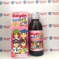Biolysin Smart Rasa Strawberry 100 ml - Multivitamin Anak