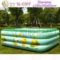 Kolam Renang Xiale SL-C017 2 Meter Mainan Bola Mandi Anak SNI