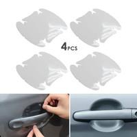 Stiker Anti Gores Pelindung Gagang Pintu Mobil Car Handle Protect 4pcs