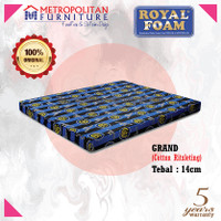 Kasur Busa Royal Foam Grand 160 x 200 Tebal 14 cm