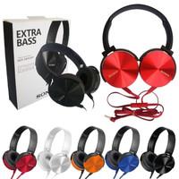 Headphone Sony MDR XB-450 Gaming Headset Bando EXTRA BASS Music MIMAMO