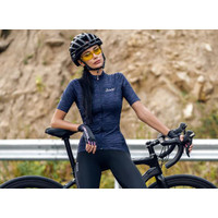 Jersey Sepeda Lipat MTB Roadbike Balap Wanita Kaos Baju L9C02153