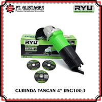 Gerinda Tangan RYU RSG 100-3 Discgrinder Merk RYU 4 Inch