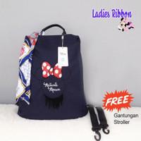 DIAPER BAG ORIGINAL DISNEY LADIES SERIES / TAS DIAPER RANSEL WANITA