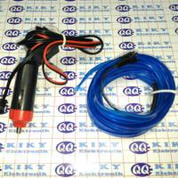 el wire 12v sirip 3m 2,3mm / elwire / neon wire