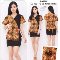 Blouse Batik Kombinasi / Blazer Batik Modern