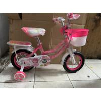 Sepeda mini anak Evergreen Daisy ukuran 12