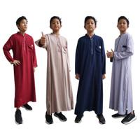 Baju Muslim Koko Gamis Warna Anak Usia 1-5 Tahun