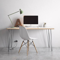 meja kantor modern minimalis duco 100 x 40