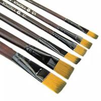 Kuas Lukis Set 6 pcs Paint Brush