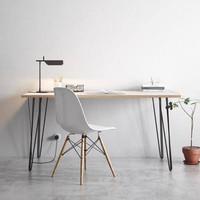 meja kantor modern minimalis duco 100 x 50