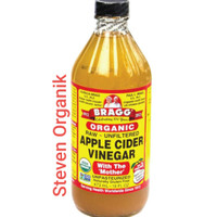 BRAGG APPLE CIDER VINEGAR 473 ML / CUKA APEL BRAGG