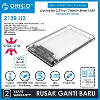 ORICO ENCLOSURE 2139U3 Casing Harddisk External 2,5inch Sata USB 3.0