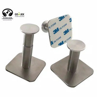 Headset, Headphone Stand / Hanger DINDING - LOGAM/AL